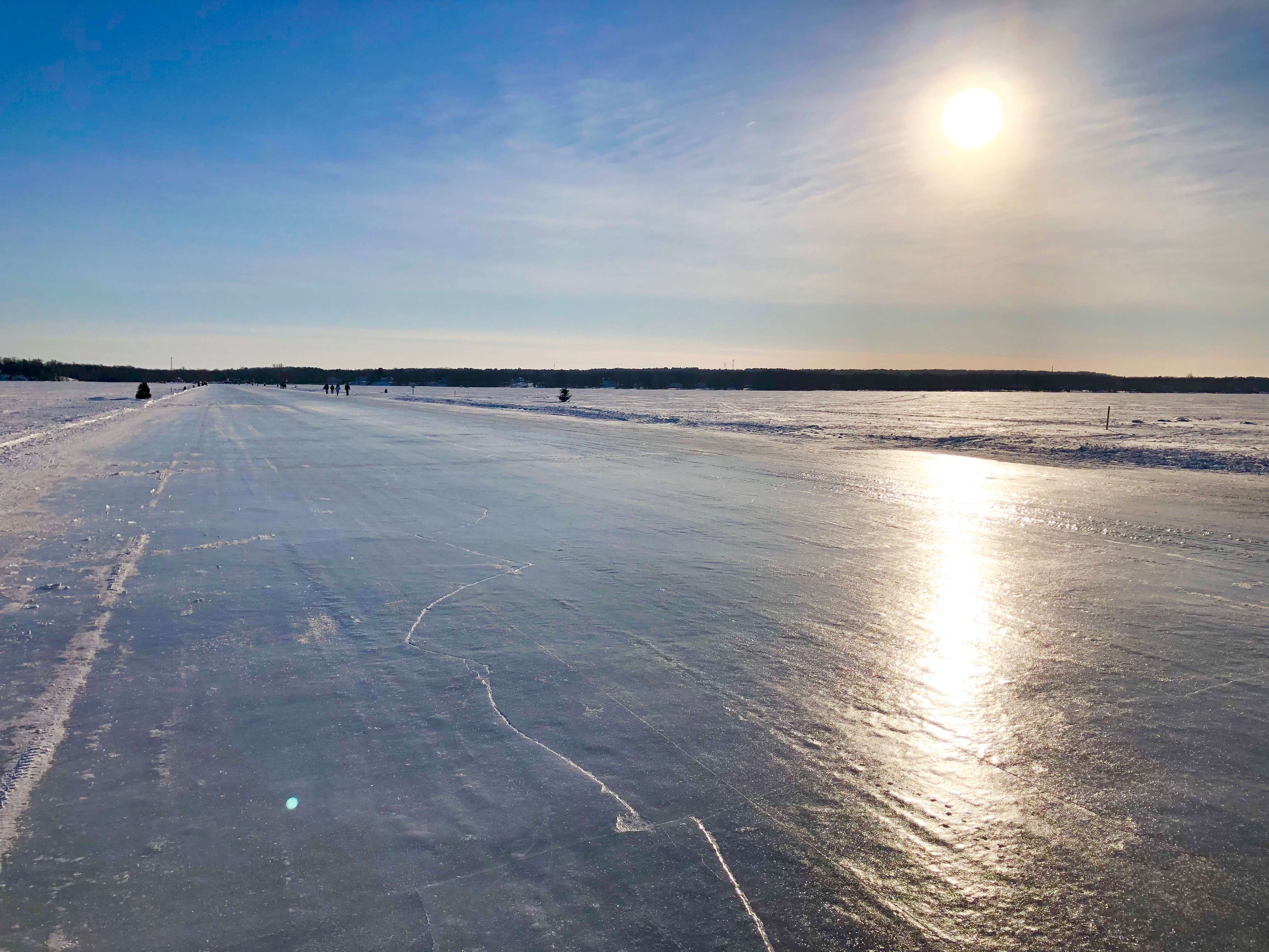 pont de glace oka hudson