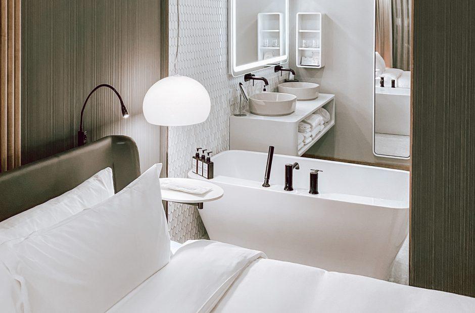 Nouvelle chambre hôtel Le Germain Montréal